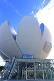 SINGAPOUR : Art Science Museum On October 20, 2014 dans Bayfront, Photos stock