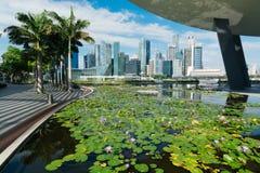 Singapour CBD Photos libres de droits
