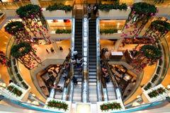 Singapour : Centre commercial de ville de tombolas Image libre de droits