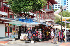 Singapour Chinatown Image libre de droits