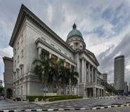 Singapour, Singapour - 25 décembre 2017 : National Gallery ancienne Singapour court suprême du ` s de Singapour, Images stock