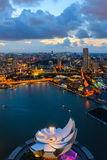 Singapour du centre Photo stock