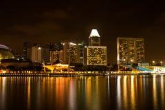 Singapour - 1er mars 2017 : Une belle veilleuse illuminée par les ampoules Images libres de droits