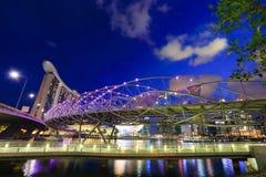 Singapour est place financière du monde la quatrième principale Images libres de droits