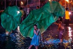 SINGAPOUR - 3 FÉVRIER : Festival 2012 de Chingay à Singapour sur F Photographie stock