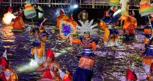SINGAPOUR - 3 FÉVRIER : Festival 2012 de Chingay à Singapour sur F Photo libre de droits