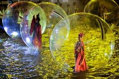 SINGAPOUR - 3 FÉVRIER : Festival 2012 de Chingay à Singapour sur F Images stock