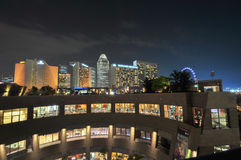SINGAPOUR 31 MARS : Marina Bay Sands Resort Hotel le 31 mars, Image stock