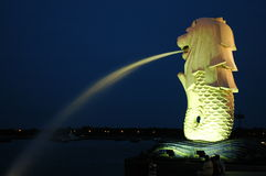 Singapour Merlion Photos stock