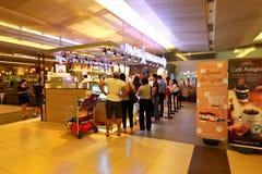 Singapour : Nourriture de achat Photos stock