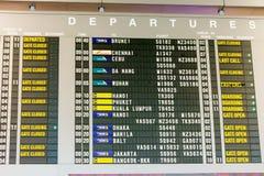 Singapour - 19 novembre 2017 : Aéroport international Ter de Changi Photos stock