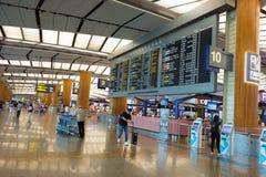 Singapour - 19 novembre 2017 : Aéroport international Ter de Changi Photo libre de droits