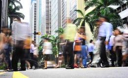 Singapour occupé Photographie stock libre de droits