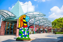 SINGAPOUR - OCT., signe de SINGAPOUR de 28 STUDIOS UNIVERSELS en octobre Image libre de droits