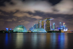 Singapour panoramique Photographie stock