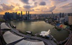 Singapour panoramique Photos stock