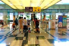 Singapour : Rentrer à la maison Photos stock