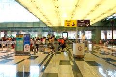 Singapour : Rentrer à la maison Photo stock