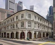 Singapour, Singapour 12 décembre 2015 : Style asiatique intéressant B photos libres de droits