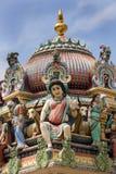 Singapour - temple indou de Sri Mariamman photographie stock
