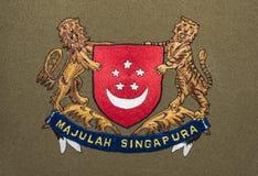 Singapour-Wappen vektor abbildung