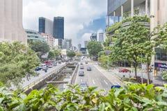 SINGAPPORE- 2 de enero de 2017: Opinión de la calle de Chinatown en Singapo Imagen de archivo