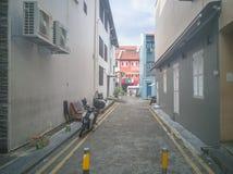 SINGAPPORE- 2 de enero de 2017: Opinión de la calle de Chinatown en Singapo Imagen de archivo libre de regalías