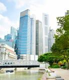 Singapur śródmieście Obraz Stock