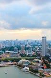 Singapur śródmieście Obrazy Stock