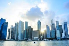Singapur śródmieście zdjęcie stock