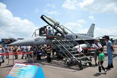 Singapur Airshow 2014 Imagenes de archivo
