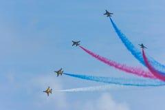 Singapur Airshow 2014 Fotografía de archivo