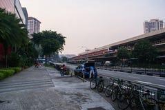 Singapur Ang Mo Kio MRT stacja Obrazy Stock