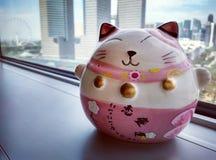 Singapur-Ansicht hinter Neko Ceramic Lizenzfreie Stockfotos