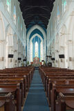 SINGAPUR - 10. April 2016: Heiliges Andrew Cathedral lizenzfreie stockfotos