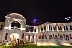 Singapur Art Museum an BH Basah-Straße lizenzfreie stockfotografie