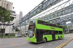 Singapur autobus fotografia royalty free
