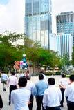 Singapur biznesmeni Zdjęcie Stock