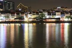 Singapur-Boot Quay Lizenzfreie Stockbilder