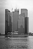 Singapur-Bucht Lizenzfreie Stockfotografie