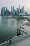 Singapur-Bucht Stockbilder