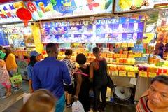 Singapur: Bugis uliczny rynek Obrazy Stock