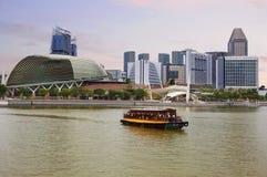 Singapur bulwar Zdjęcie Stock