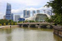Singapur, bulwar Obraz Stock