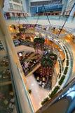 Singapur: Centro comercial de la ciudad de las rifas Imagen de archivo libre de regalías