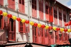 Singapur Chinatown lizenzfreie stockfotos