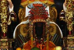 Singapur: Chinesischer Tempel Thian weißer Rheinwein Keng Stockfotos