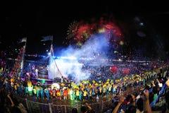 Singapur-chingay Parade 2012 Lizenzfreie Stockfotografie