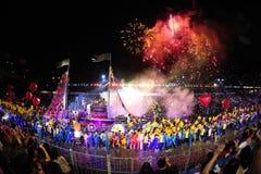 Singapur-chingay Parade 2012 Stockfoto