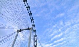 Singapur chmury i ulotka Zdjęcie Stock
